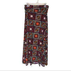 LULAROE maxi skirt. Small